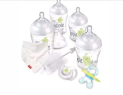 Nuby Natural Touch easy latch anti-colic Starter Set free post