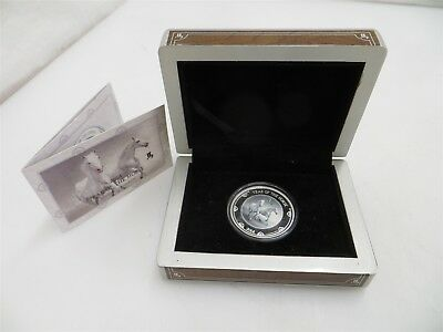 Year of the Horse 1 Troy Oz .999 Fine Silver $2 Coin   New Zealand Mint Proof