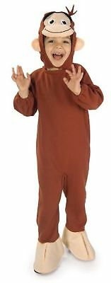 Curious George Toddler Costume by Rubies Size 2T-3T