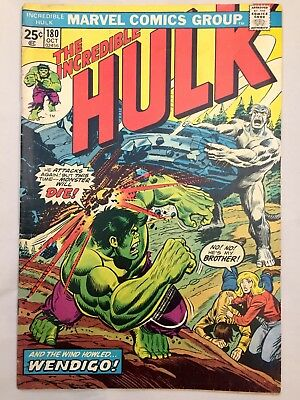 INCREDIBLE HULK #180 - First Wolverine Appearance!