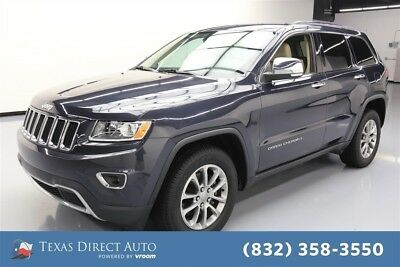 Jeep Grand Cherokee Limited Texas Direct Auto 2015 Limited Used 3.6L V6 24V Automatic RWD SUV