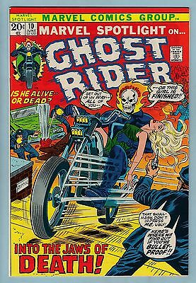 Marvel Spotlight # 10 Nm (9.4) Early Ghost Rider- Lovely Glossy High Grade_Cents