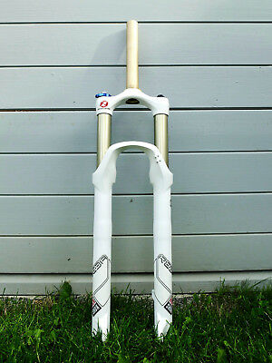 + 2012 ROCKSHOX Rock Shox Reba RLT Dual Air 120 mm Federgabel 29er +