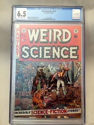 Weird Science #13 (1952) - Classic Ec! Wally Wood Cover! Cgc 6.5