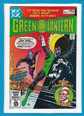 Green Lantern #138_March 1981_Nm Minus_Eclipso_Adam Strange_Bronze Age Dc_Uk!