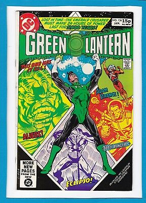 Green Lantern #136_January 1981_Very Fine_Adam Strange_Bronze Age Dc_Uk!