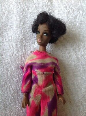 Vintage African American Dawn Dale Doll Black Hair W Clothing Outfit TLC