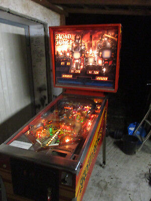 Williams Road Kings , System 11 Technik  , 1986 ,  Flipper - Pinball