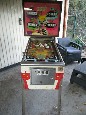 Williams Cabaret , Elektromechanisch  , 1968 ,  Flipper - Pinball