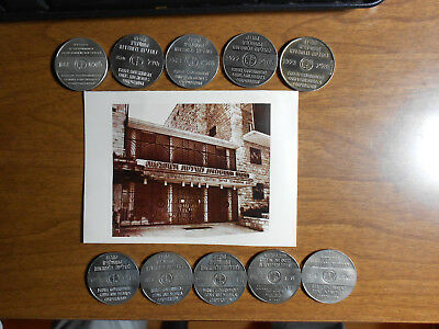 Israel 10 Tokens Government Coins And Medals Corporation Greetings From 1968