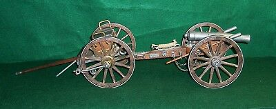 Denix Dahlgren 1861 Civil War Cannon And Limber Large Model In Wood And Metal