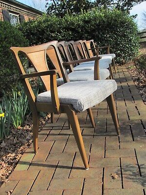 Awesome Vintage Mid century Modern Ext. Table and Six Chairs