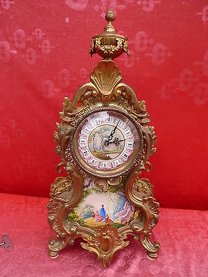 Very Nice,Old Mantel Clock __French Hermle__ High Quality Watch__ 46,5cm __