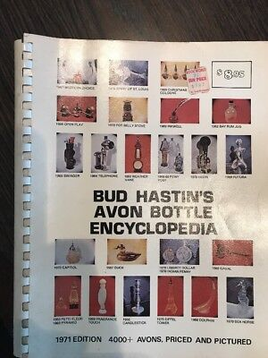 Bud Hastin's Avon Bottle Encyclopedia - 1971 Edition