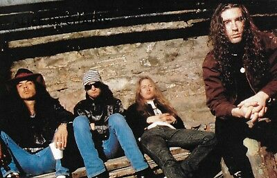 Alice in Chains Layne Staley Jerry Cantrell 5 x 7 pin-up photo