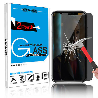For iPhone XS / XS Max /XR Privacy Anti-Spy Tempered Glass Screen Protector Film