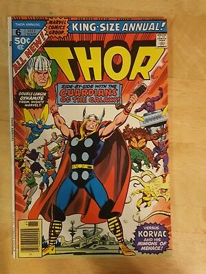 Thor Annual #6 (1977) Guardians of the Galaxy, Korvac