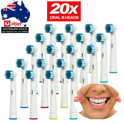 20PCS ELECTRIC TOOTHBRUSH Replacement Heads For Oral B Braun Models
