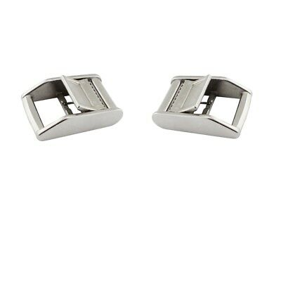 2pcs Stainless Steel Cam Buckle for Luggage Rack Tie Down Straps