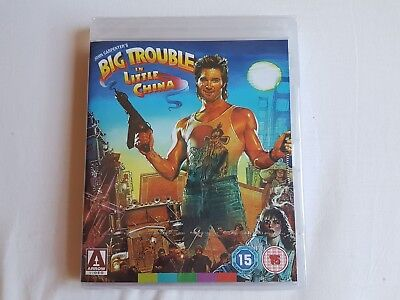 BIG TROUBLE IN LITTLE CHINA (ARROW) BRAND NEW & SEALED UK Release Blu Ray