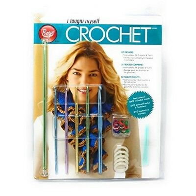 Get Started Cro Kit - Crochet I Taught Myself Unknown Simplicity Boye Beginners