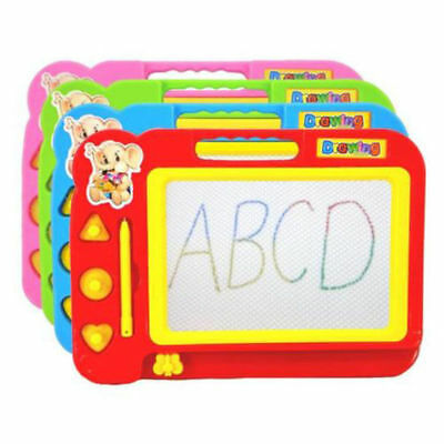 Kid Color Magnetic Writing Painting Drawing Graffiti Board Toy Preschool Tool