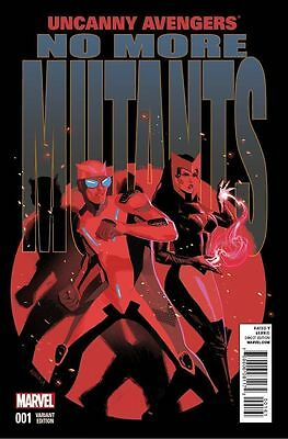 UNCANNY AVENGERS #1 (2015 ) ACUNA 1:20 VARIANT NM 1st PRINT BAGGED & BOARDED