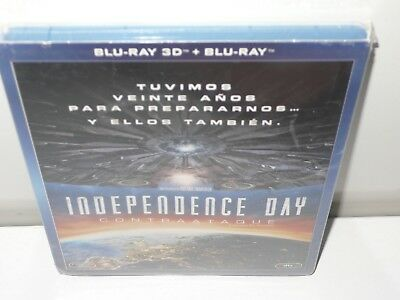 independence day contraataque - blu-ray + blu-ray 3d