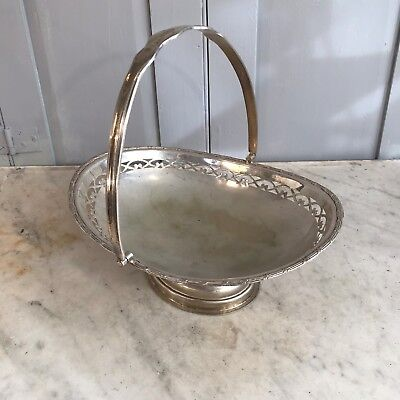 Antique silver plated sweet dish or comport