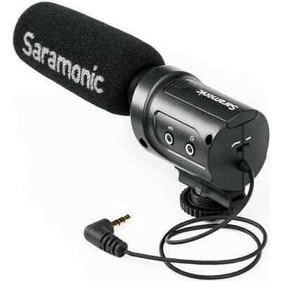 Saramonic SR-M3 Mini Directional Condenser Microphone with Integrated
