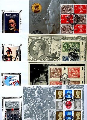 d4 - BENHAM 2007 TO 2010 DEFINITIVE / SILK / BOOKLET  COVERS - MULTIPLE LISTING