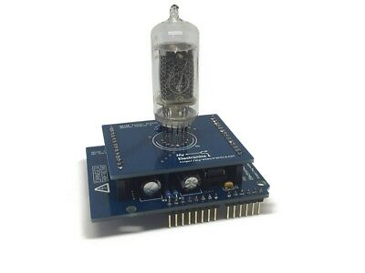 Nixie Tester Shield Kit for Arduino, PCBs + Parts (Tubes Not Included)