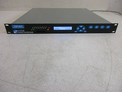 Logic Innovations Broadcast Video Transport Stream Multiplexer TSM-2800