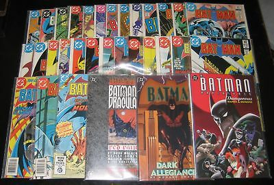 """Batman Lot Of 32! #340-369 And Special Issues! Mr. """"d"""" Collection!"""