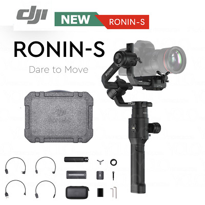 DJI RONIN-S Three-Axis (3-Axis) Motorized Gimbal Stabilizer For DSLR Camera NEW