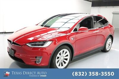 Tesla Model X AWD 75D 4dr SUV Texas Direct Auto 2017 AWD 75D 4dr SUV Used Automatic AWD Premium