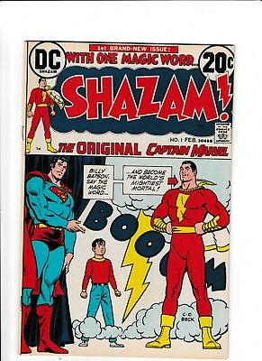 Shazam! #1 2 3 Lot 1st Appearance, Return, DC Origin of Captain Marvel 1973 Key