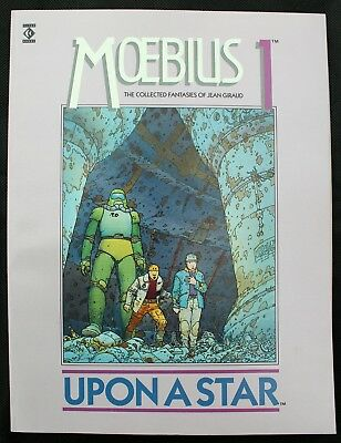 Moebius 1 Upon a Star a nm- a 1988 English version color Titan GN by Jean Giraud