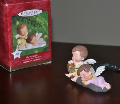 2000 Hallmark Ornament - Mary's Angels   Light/Magic Compliments the series
