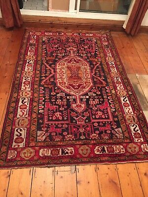 Vintage Antique  Persian Rug
