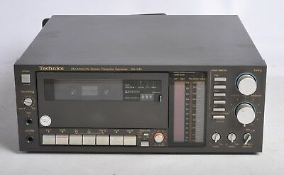 Technics Sa-K5L Stereo Cassette Receiver / Amplifier With Phono Stage