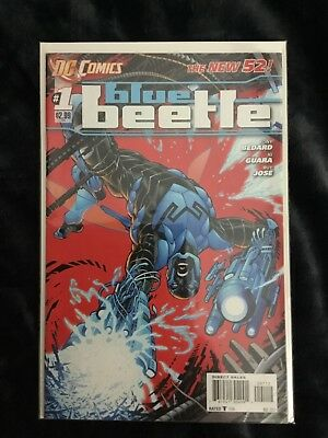 BLUE BEETLE  (2011 Series) (DC NEW52)  #1 2ND PRINT