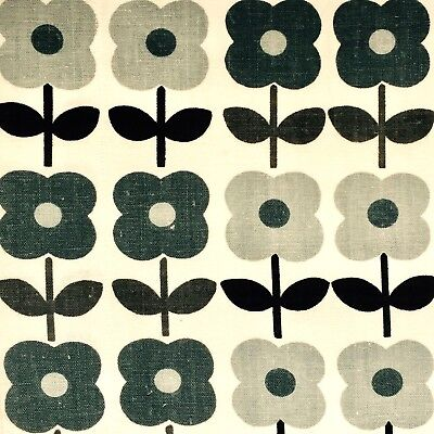 vintage 50s 60s fabric retro graphic floral crafts orla kiely style pop art #55