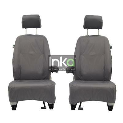 Land Rover Discovery 3 Front Row Inka Fully Tailored Waterproof Seat Covers Grey