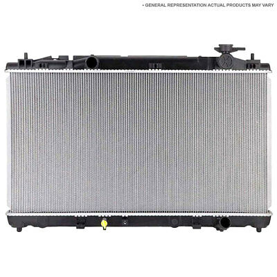 New Radiator Fits Toyota Highlander 4-Cyl w/ Towing Package 2009 2010