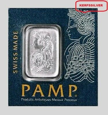 Pamp Suisse  Lady Fortuna  1 Gram 999.5 Platinum Bar Sealed In Assay Certificate