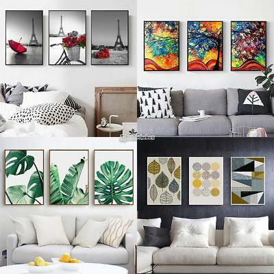 Types Modern Abstract Oil Painting Canvas Wall Art Printed Picture Home Decor