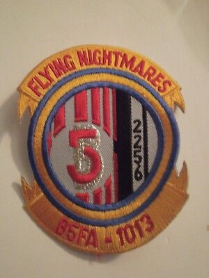 B5  Babylon 5 Flying Nightmares Squadron Embroidered Patch