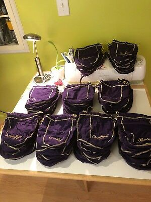 Crown Royal Lot Of 88 Purple Bags