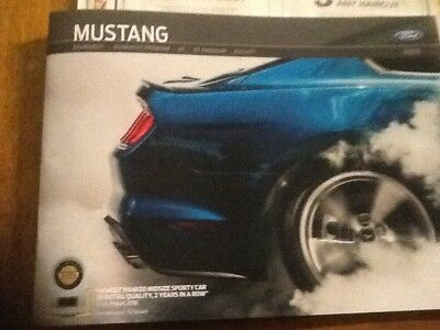 2019 Ford Mustang brochure with bullitt new